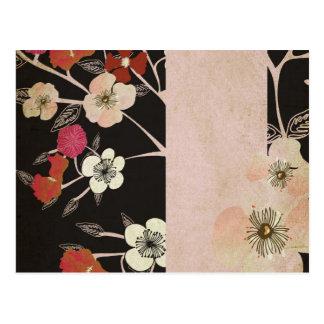 Cherry blossom flowers Postcard