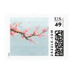 Cherry Blossom Flowers Stamp