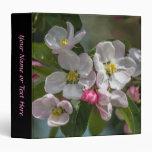 Cherry Blossom Flowers Vinyl Binder