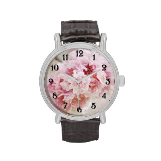 Cherry Blossom Flowers Wrist Watches