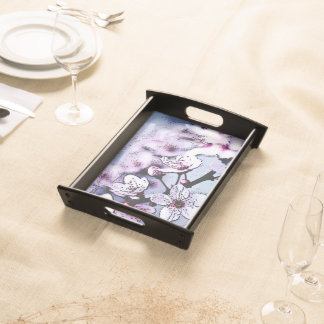 Cherry blossom food tray