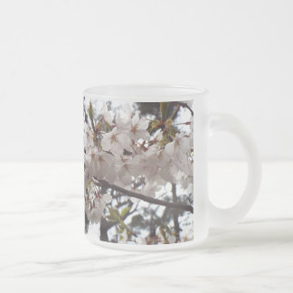 Cherry Blossom frosted mug