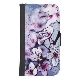 Cherry blossom galaxy s4 wallets
