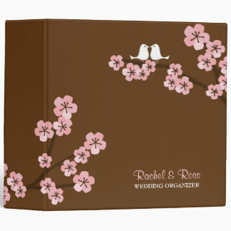 Cherry Blossom Garden Wedding Binder
