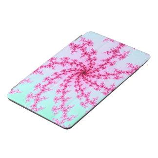 Cherry Blossom - Gentle Pink Fractal Swirls iPad Mini Cover