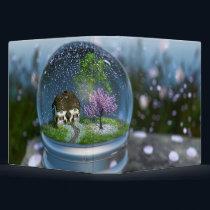 Cherry Blossom Globe Binder