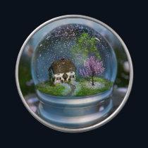 Cherry Blossom Globe Candy Tin
