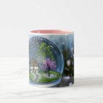 Cherry Blossom Globe Mug