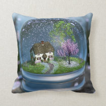 Cherry Blossom Globe Pillow