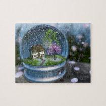 Cherry Blossom Globe Puzzle