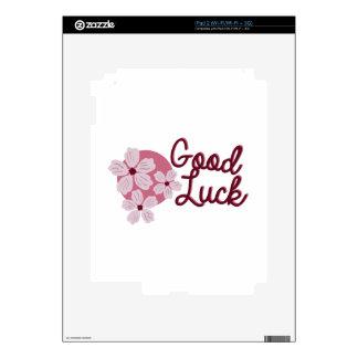 Cherry Blossom Good Luck iPad 2 Skins
