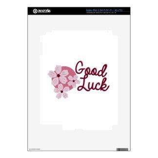 Cherry Blossom Good Luck iPad 3 Decals