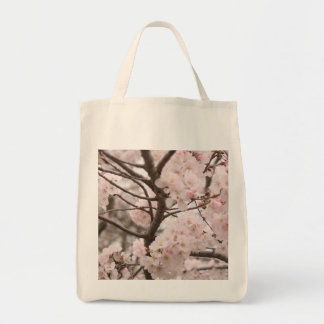 Cherry Blossom Grocery Tote