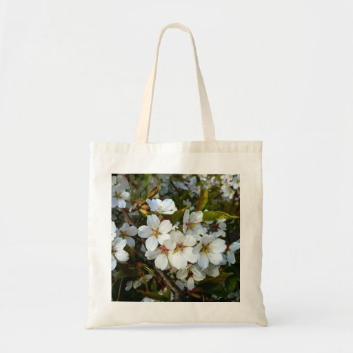 Cherry Blossom II Canvas Bags