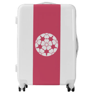Cherry blossom in Five equal parts cherry blossom Luggage