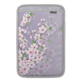 Cherry blossom in soft light Rickshaw Sleeve Sleeves For MacBook Air