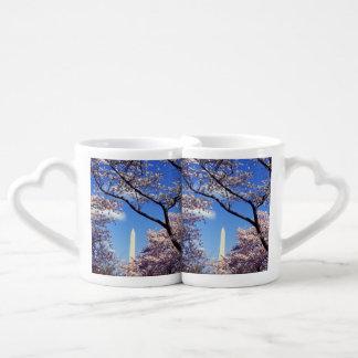 Cherry blossom in Washington DC Photo Coffee Mug Set
