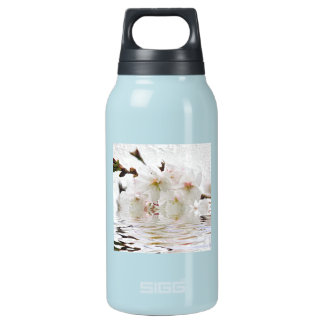 Cherry blossom in water insulated water bottle