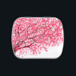 "Cherry Blossom jelly Belly Tin<br><div class=""desc"">Jelly belly Tin with pretty pink cherry blossoms and branches.</div>"