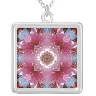 Cherry Blossom Kaleidoscope necklace