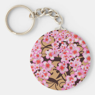 Cherry Blossom Keychains