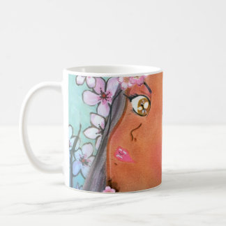 Cherry Blossom Klip Coffee Mug
