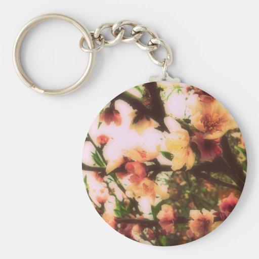 Cherry blossom llaveros