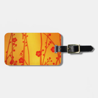 Cherry Blossom Luggage Tags