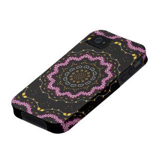 Cherry Blossom, Mandala Art  iPhone Case iPhone 4/4S Cases