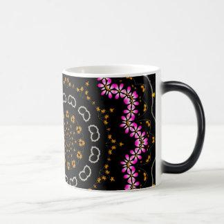 Cherry Blossom, Mandala Art Mugs