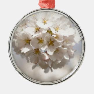 Cherry Blossom Metal Ornament