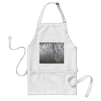 cherry blossom minus crowd adult apron