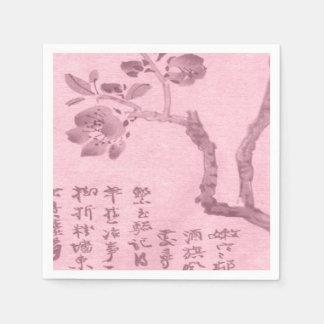 Cherry Blossom Napkins Paper Napkins