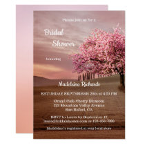Cherry Blossom Orchard Bridal Shower Invitation