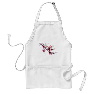 Cherry Blossom Painting Adult Apron