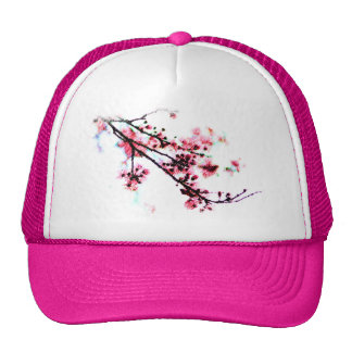 Cherry Blossom Painting Hats