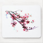 Cherry Blossom Painting Mouse Pad