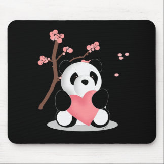 Cherry Blossom Panda Mousepad