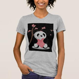 Cherry Blossom Panda T Shirts