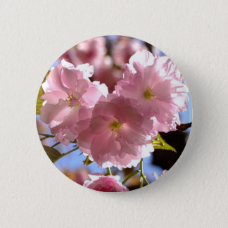 Cherry Blossom Party Pinback Button