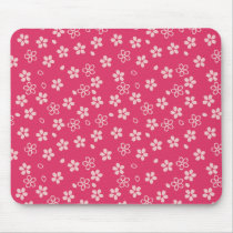 Cherry Blossom pattern Mouse Pad