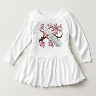 Cherry Blossom Peacock Dress