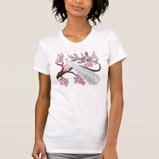 Cherry Blossom Peacock T-Shirt