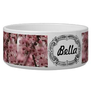 Cherry Blossom Pet Bowl