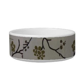 Cherry Blossom Pet Dish Pet Bowls
