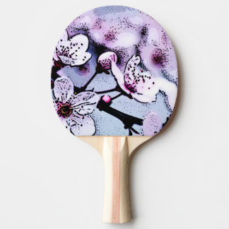 Cherry blossom Ping-Pong paddle