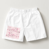 Cherry Blossom - Pink Boxers