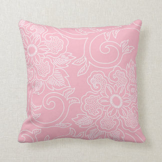 Cherry Blossom Pink Floral Pillow