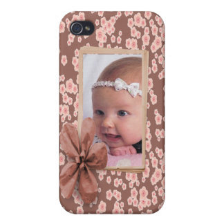 Cherry Blossom Pink Photo Custom Personalized iPhone 4/4S Cover