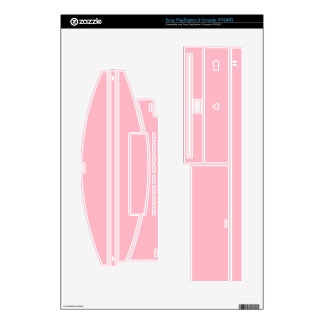 Cherry Blossom Pink PS3 Console Skins